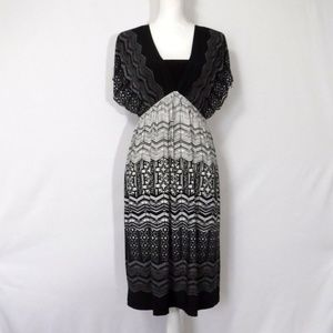 New Directions Empire Waist Dress Size L